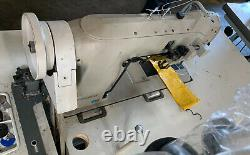 Used Consew industrial sewing machine Double Needle 339RB-4 Walking Foot