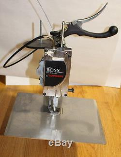 Used Tippmann The Boss Hand Stitcher Leather Sewing Machine
