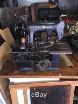 VINTAGE SINGER 99W110 KEYHOLE INDUSTRIAL SEWING MACHINE
