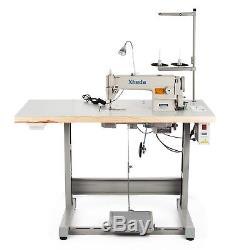 Vevor DDL-8700 Sewing Machine with Servo Motor, Stand & LED LAMP FREE SHIPPING