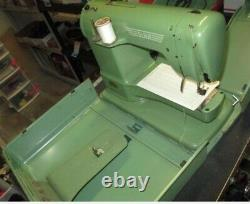 Vintage ELNA Supermatic Portable Sewing Machine