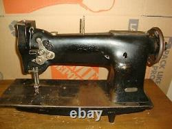 Vintage Industrial SINGER Sewing Machine Head Model 112W115