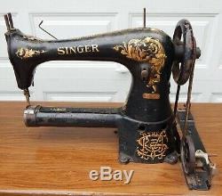 Vintage Industrial Singer 17-1 Sewing Machine Head ONLY Leather Working