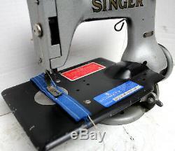 Vintage SINGER 24-33 Chainstitch 1-Thread Industrial Sewing Machine Head Only