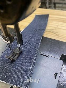 Vintage Singer 112 W 115 Two Needle Industrial Sewing Machine