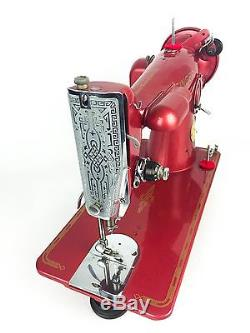 Vintage Singer 201 Heavy Duty Industrial Strength Sewing Machine Custom