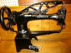 Vintage Singer 29-4 Industrial Cobbler Leather Treadle Sewing Machine