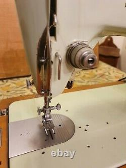 Vintage Singer 319k Zig Zag Semi Industrial Automatic Sewing Machine