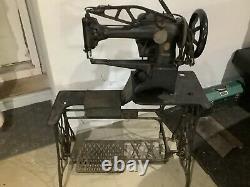 Vintage Singer Cylinder Arm Sewing Machine 29-4 Leather Industrial Cobbler Tool