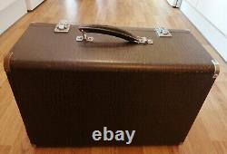 Vintage Singer Sewing Machine 99k Ek057558 Hand Crank Crocodile Skin Case Extras