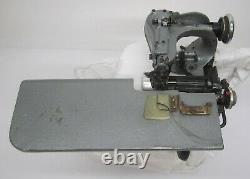 Vtg Singer Dearborn Blind Stitch Sewing Machine Hemmer Industrial 9SS1D Head