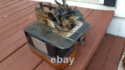 WILLCOX & GIBBS Vintage Overlock Serger Industrial Sewing Machine