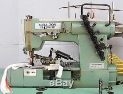 W&G 43-02X364 Coverstitch 3-N 4-T Binder Binding Industrial Sewing Machine 220V