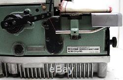 W&G 515-4 Overlock Serger 2-Needle 5-Thread Top Feed Industrial Sewing Machine