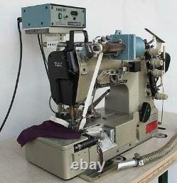 W&G PEGASUS W542-05BB Elastic Attaching Coverstitch Industrial Sewing Machine