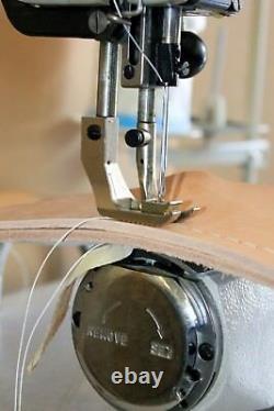 Walking foot machine for sewing saddles and harness ATlasUSA AT441