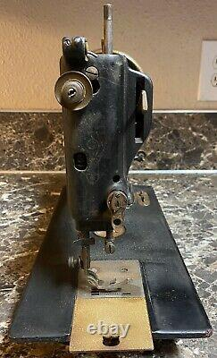 Wheeler & Wilson D-9 Sewing Machine Early American Industrial Antique 1890s Used