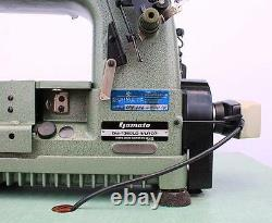 YAMATO DW-1368LD-1 Coverstitch 3-Needle 4-Thread Industrial Sewing Machine 220V
