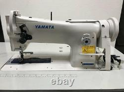 Yamata 206RB Triple Feed, Upholstery Walking Foot Sewing Machine Head Only