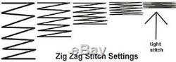 Yamata 20U63 ZigZag Straight Stitch Embroidery Sewing Machine 12mm, Head only