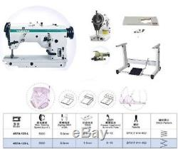 Yamata 457U135L 3-Step Zig Zag Industrial Sewing Machine +Table Singer, motor