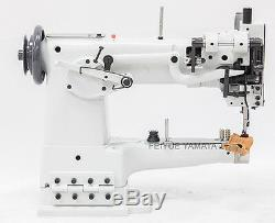 Yamata FY335 Walking Foot Cylinder Bed Industrial Sewing Machine Complete Stand