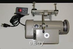 Yamata FY 8700 Lockstitch Industrial Sewing Machine Servo Motor+Table Juki DDL