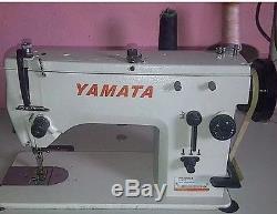 Yamata Industrial Sewing Machine 20u Zig Zag Straight Stitch 9mm Head Only