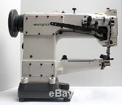 ZOJE ZJ 2628-1 Walking Foot Cylinder Bed Reverse Industrial Sewing Machine