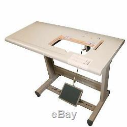 Zoje ZJ-8700 Sewing Machine, Table Juki DDL 8700 cut+Servo Motor+Stand New. DIY